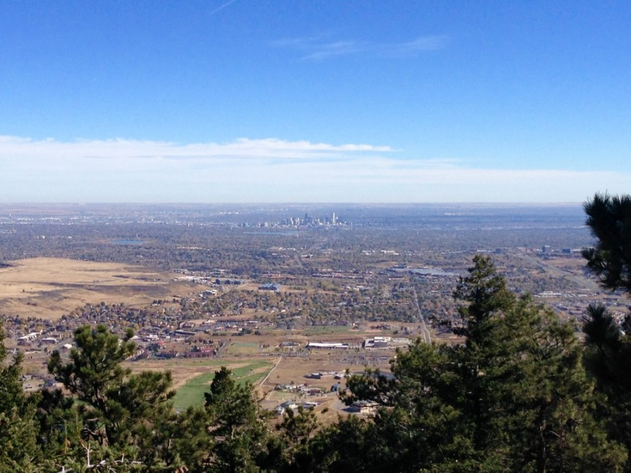 View of Denver from Lookout Mountain, Colorado